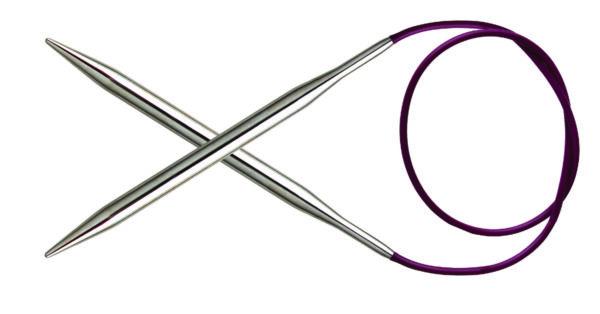 Спицы круговые 100 см Nova Metal KnitPro, 11356, 6.00 мм