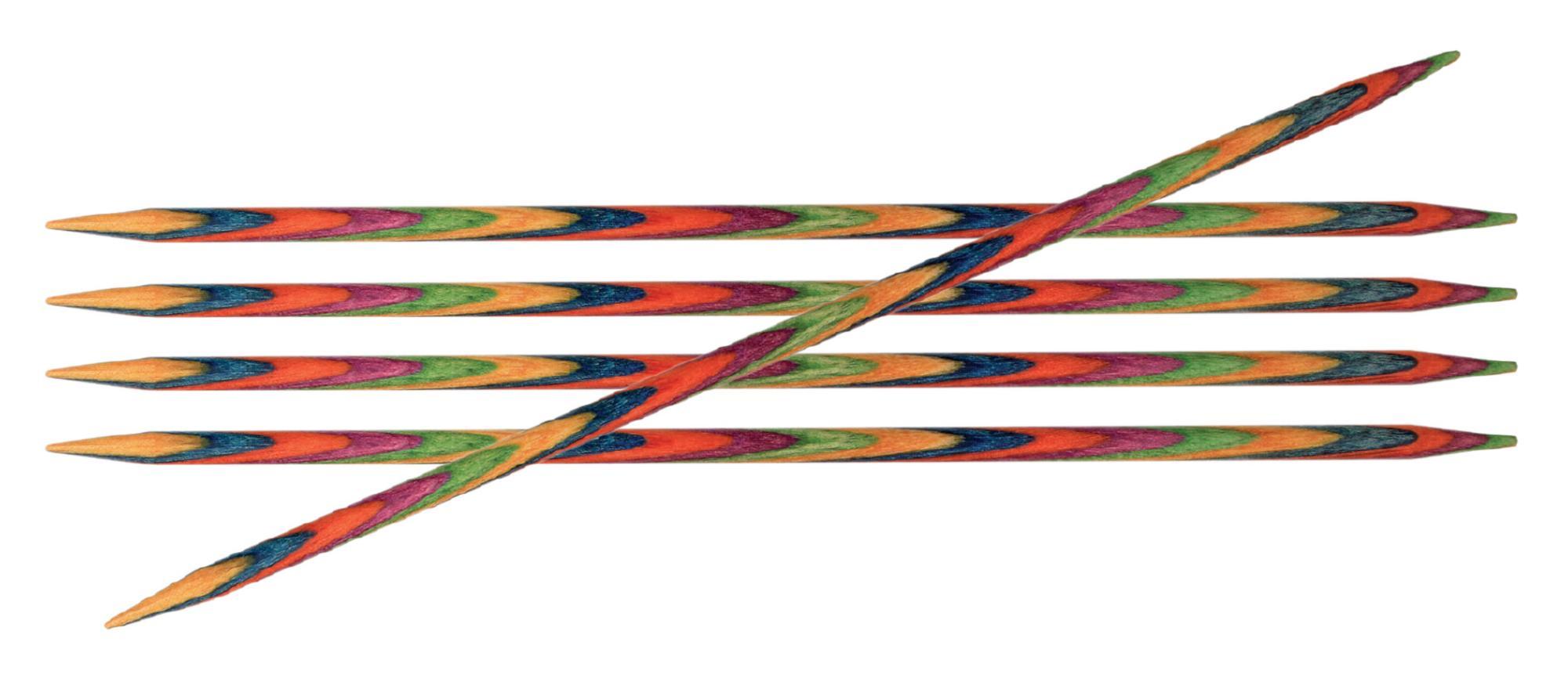 Спицы носочные 15 см Symfonie Wood KnitPro, 20146, 7.00 мм
