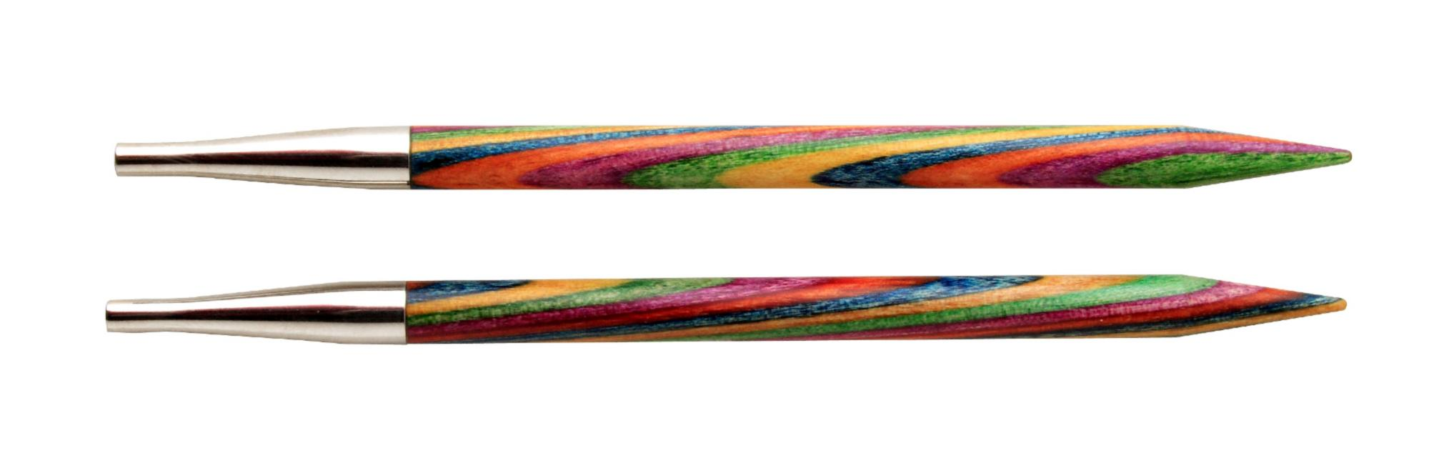 Спицы съемные короткие Symfonie Wood KnitPro, 20427, 5.50 мм