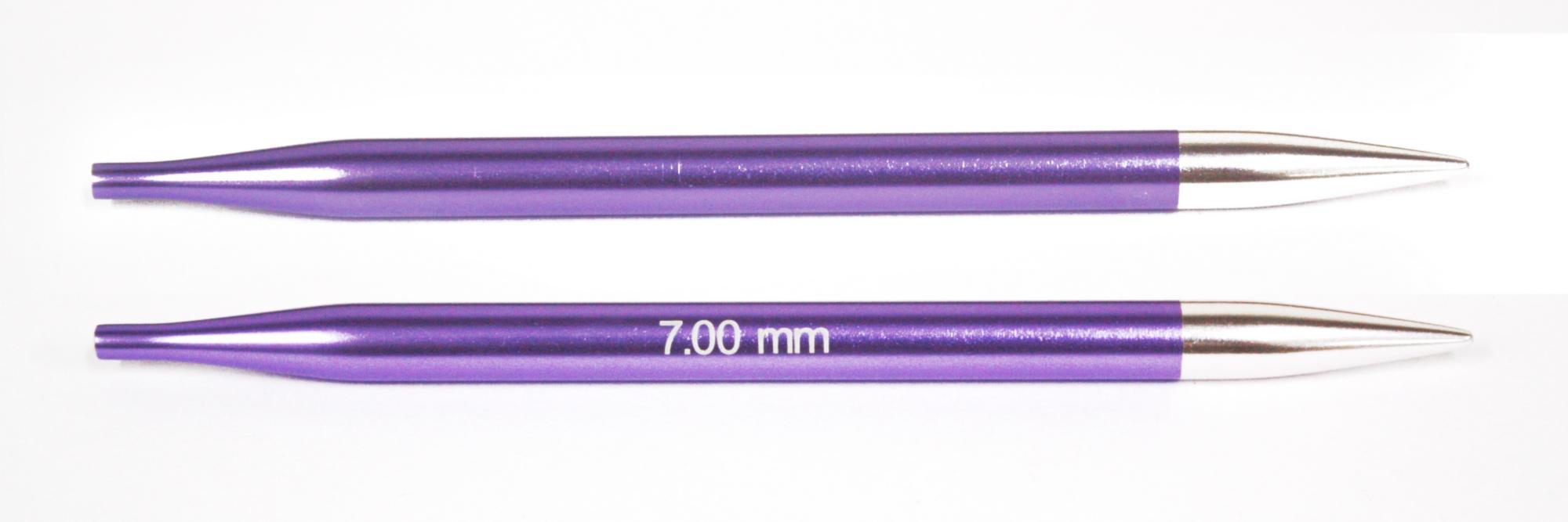 Спицы съемные Zing KnitPro, 47509, 7.00 мм
