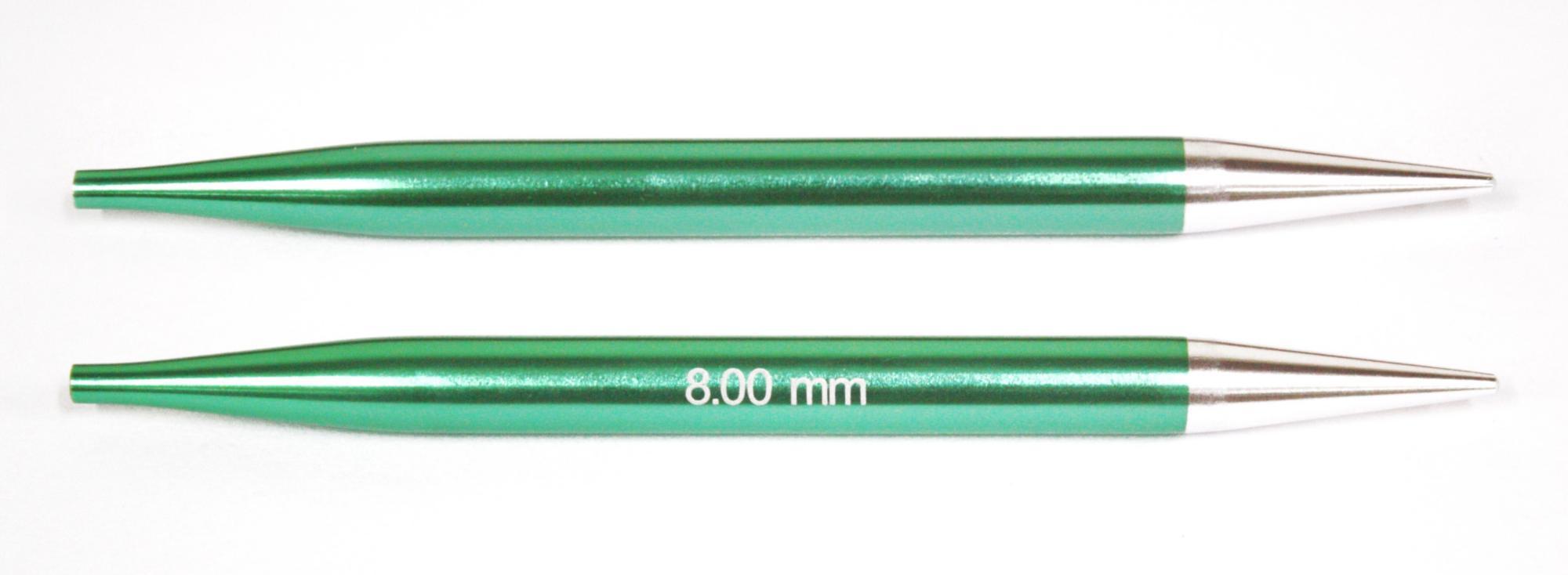 Спицы съемные Zing KnitPro, 47510, 8.00 мм