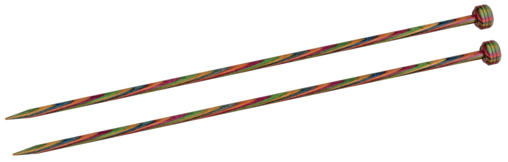 Спицы прямые 40 см Symfonie Wood KnitPro, 20259, 6.00 мм