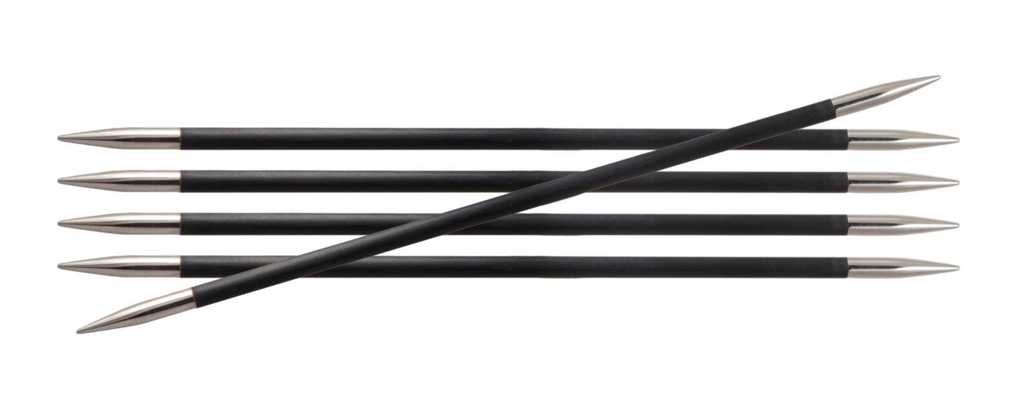 Спицы носочные 15 см Karbonz KnitPro, 41101, 1.00 мм