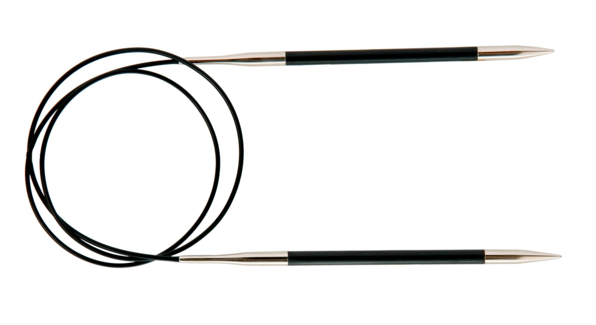 Спицы круговые 80 см Karbonz KnitPro, 41190, 5.00 мм