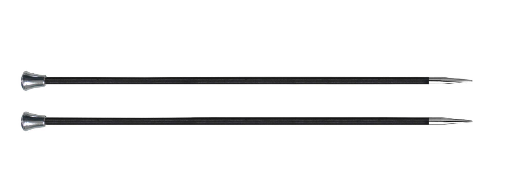 Спицы прямые 25 см Karbonz KnitPro, 41262, 6.00 мм