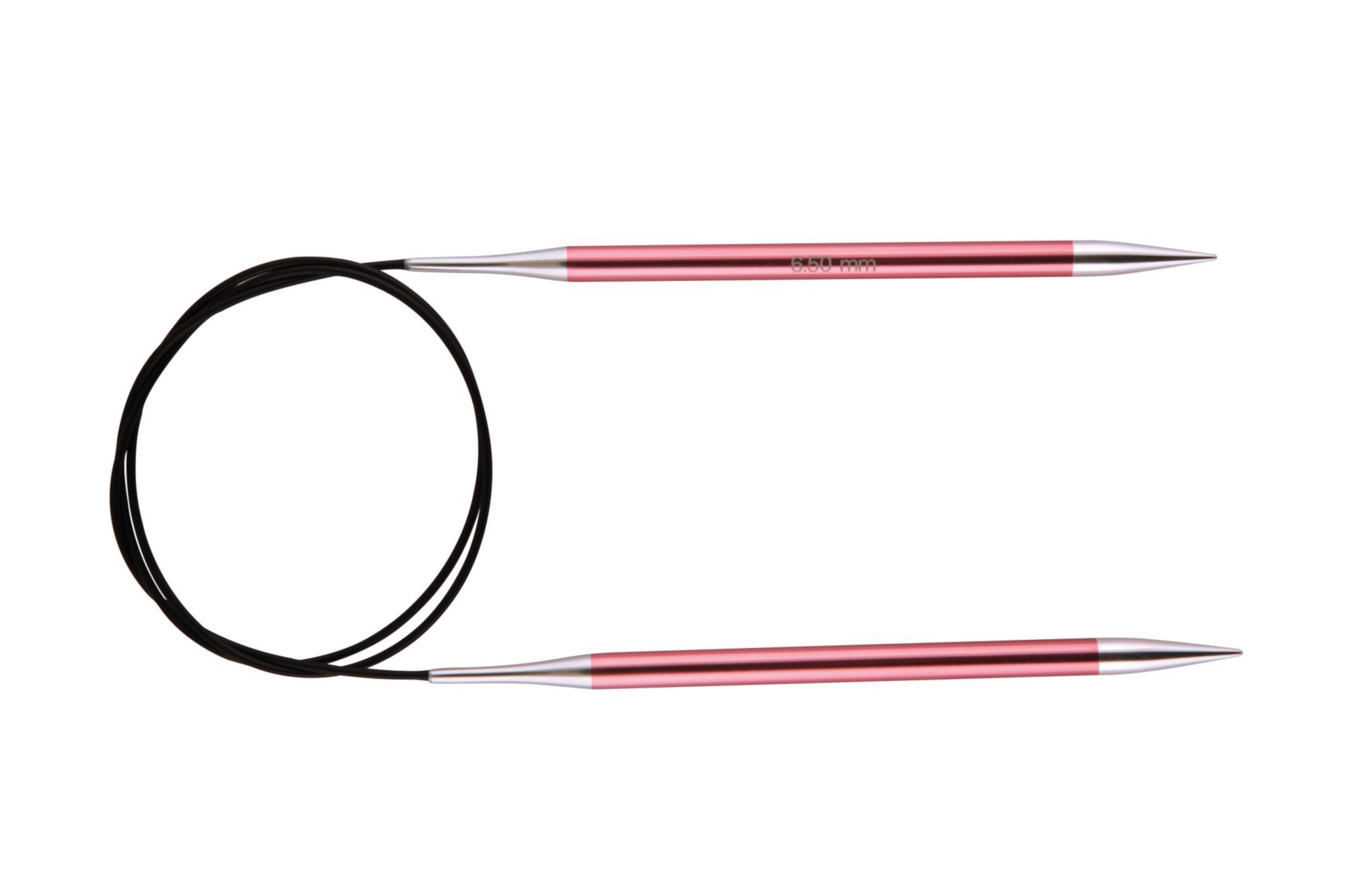 Спицы круговые 80 см Zing KnitPro, 47134, 6.50 мм