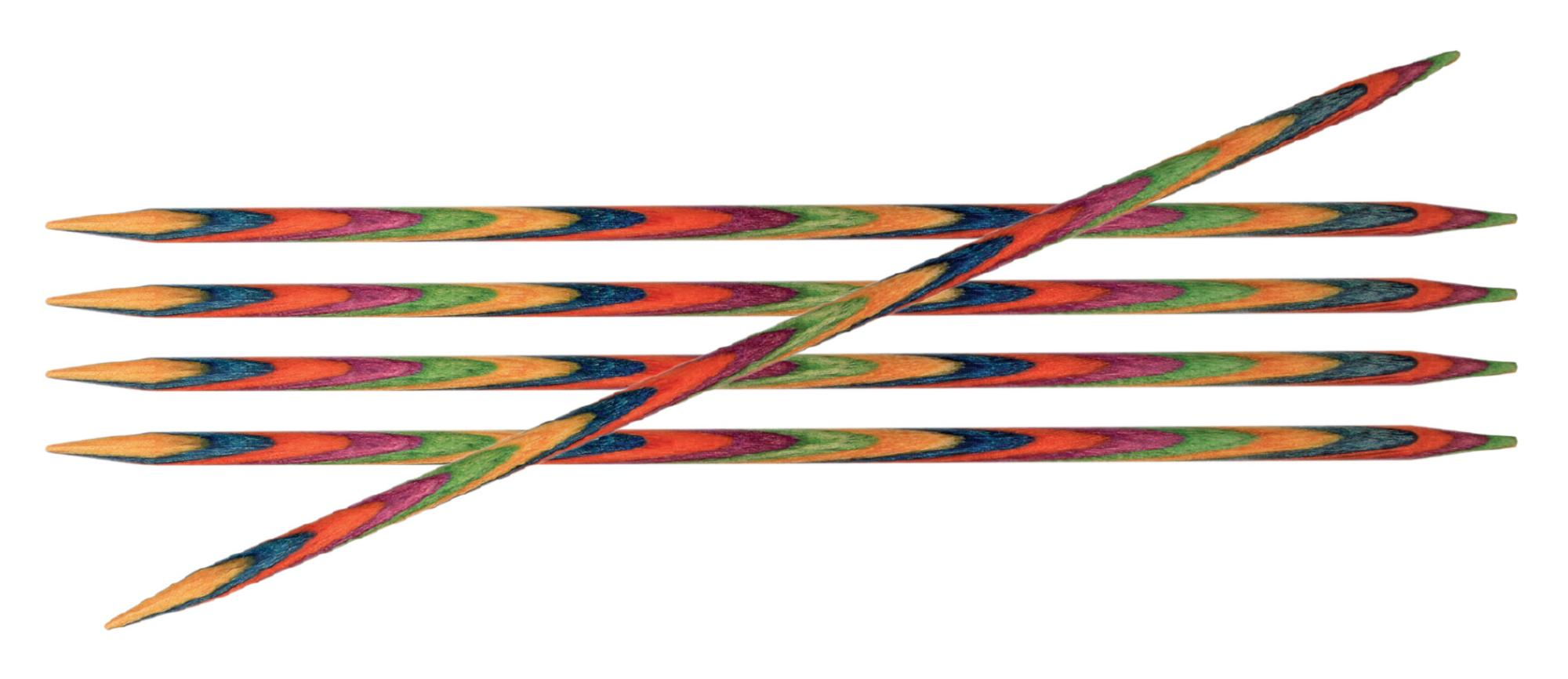 Спицы носочные 10 см Symfonie Wood KnitPro, 20133, 4.00 мм