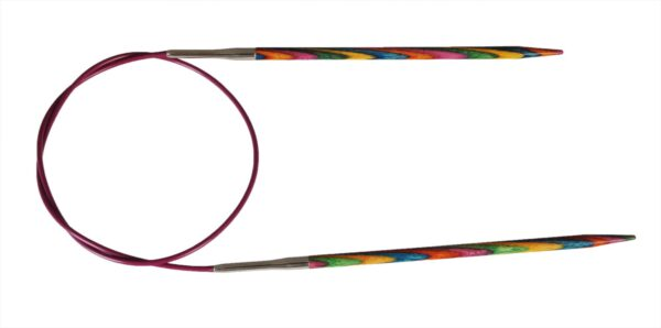 Спицы круговые 100 см Symfonie Wood KnitPro, 21362, 12.00 мм
