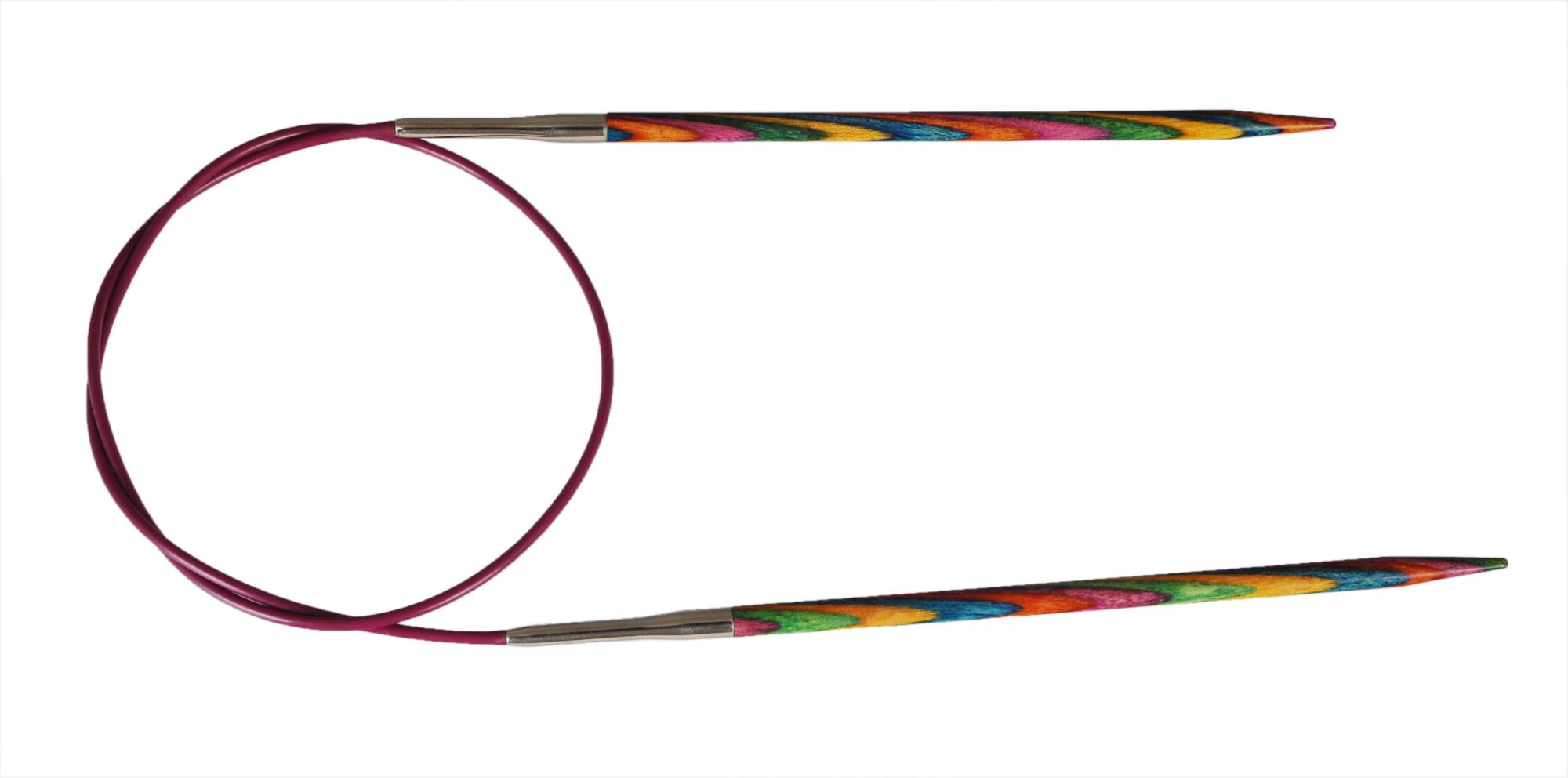 Спицы круговые 120 см Symfonie Wood KnitPro, 21371, 6.00 мм