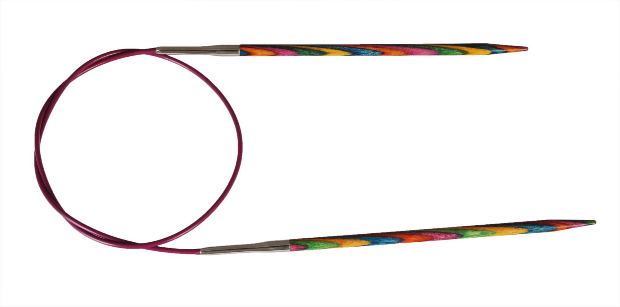 Спицы круговые 120 см Symfonie Wood KnitPro, 21376, 10.00 мм