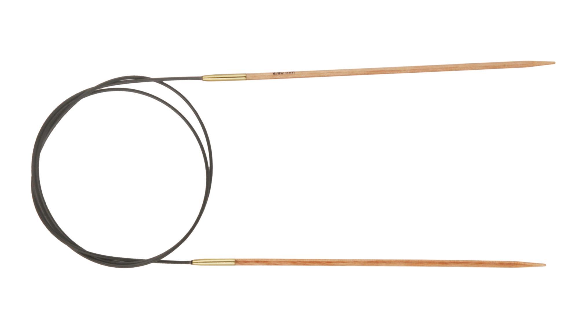 Спицы круговые 100 см Basix Birch Wood KnitPro, 35613, 2.50 мм