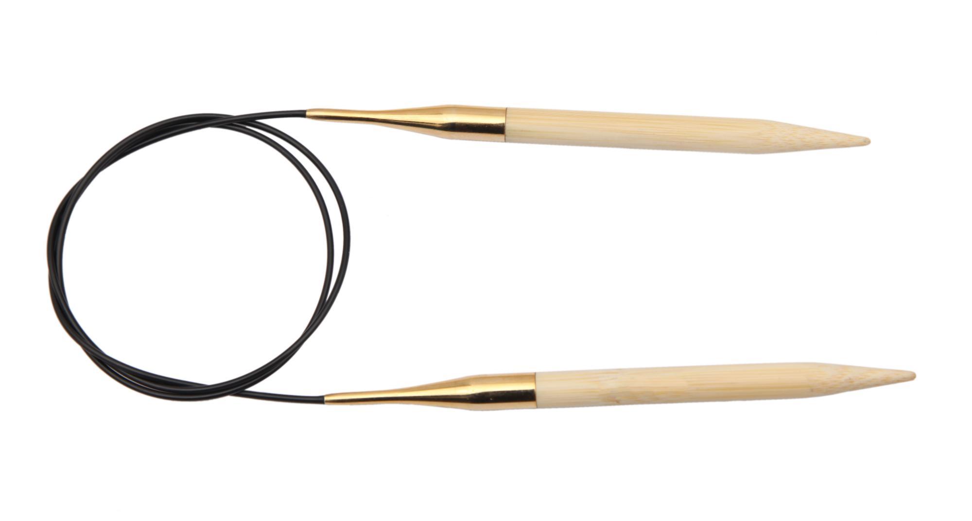 Спицы круговые 60 см Bamboo KnitPro, 22235, 9.00 мм