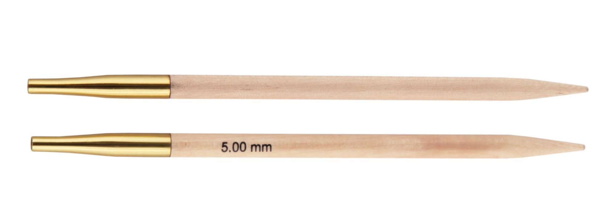 Спицы съемные Basix Birch Wood KnitPro, 35637, 5.00 мм