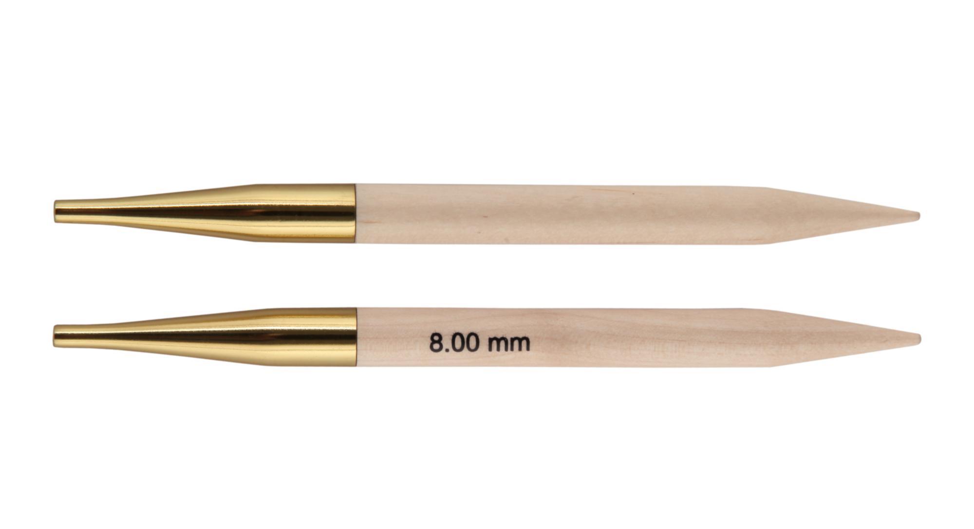 Спицы съемные Basix Birch Wood KnitPro, 35642, 8.00 мм