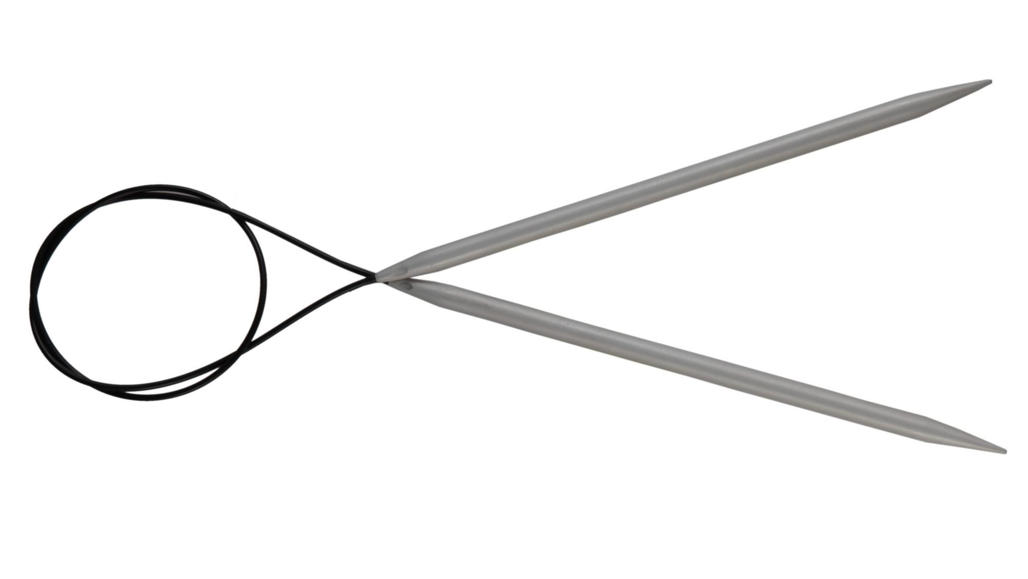 Спицы круговые 60 см Basix Aluminium KnitPro, 45326, 4.50 мм