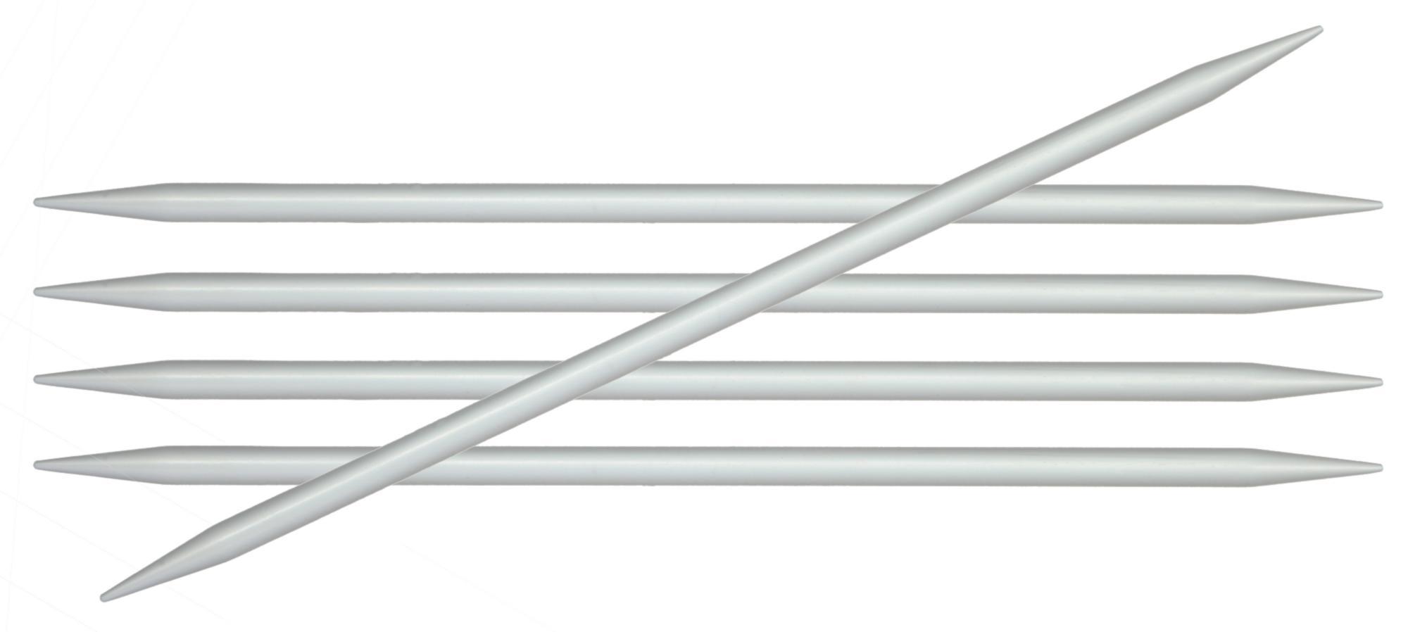 Спицы носочные 20 см Basix Aluminium KnitPro, 45121, 3.75 мм