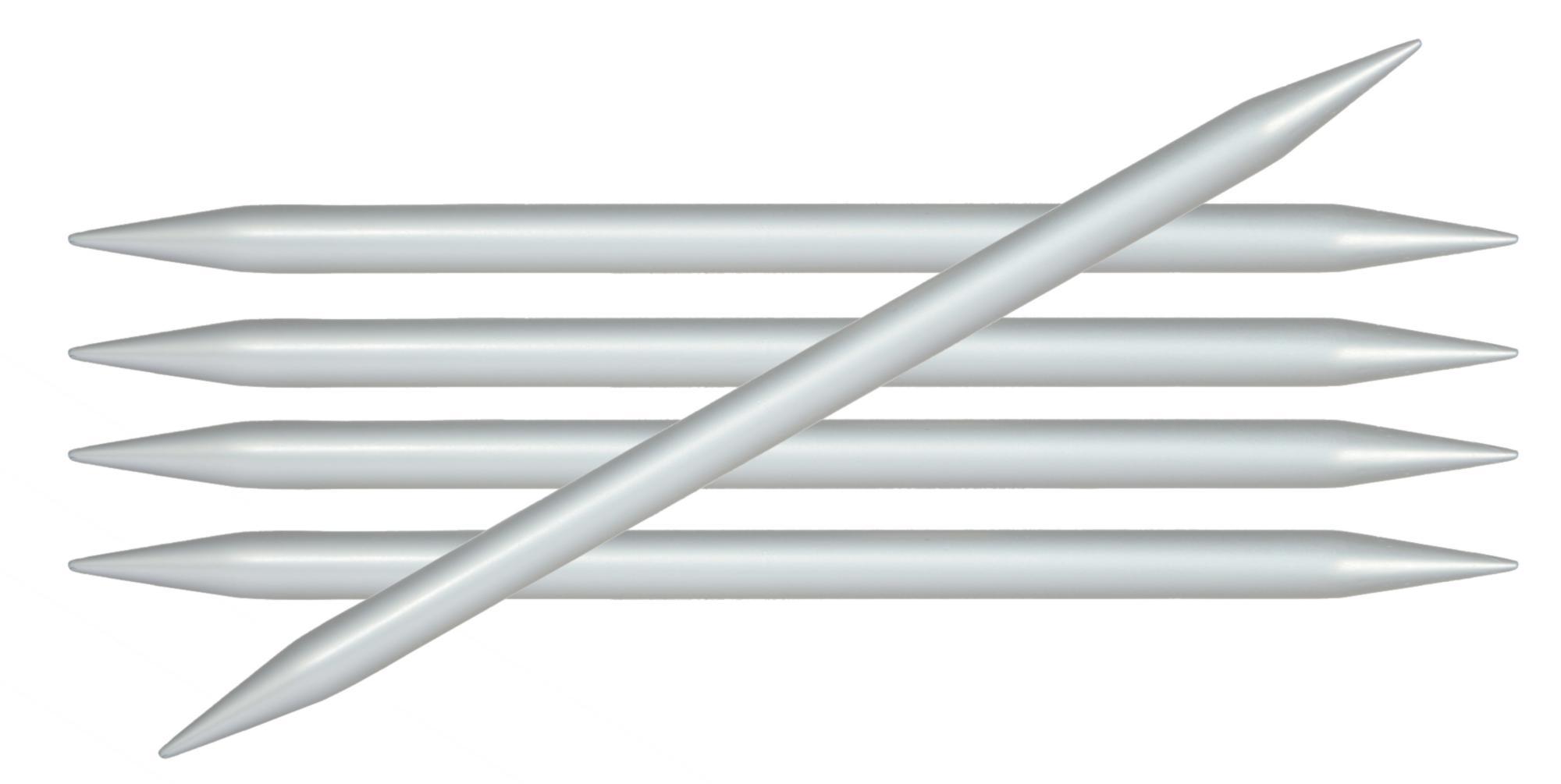 Спицы носочные 20 см Basix Aluminium KnitPro, 45126, 6.00 мм