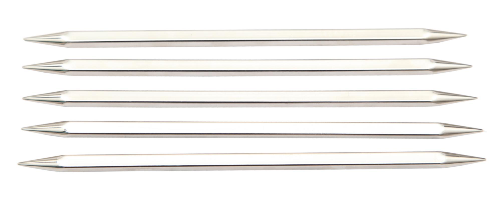 Спицы носочные 15 см Nova Cubics KnitPro, 12110, 4.50 мм