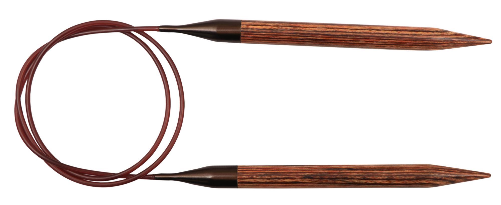 31093 Спицы круговые 6.00 мм - 80 см Ginger KnitPro