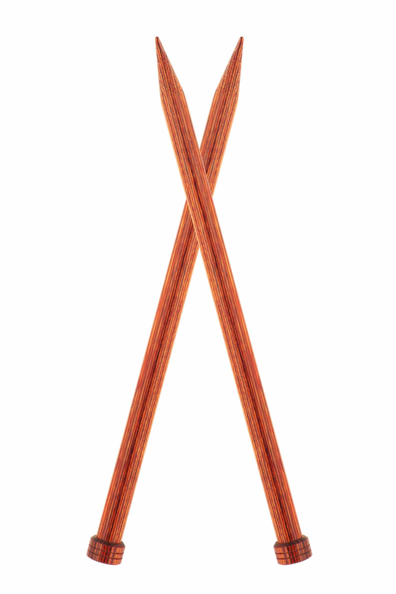 31152 Спицы прямые 8.00 мм - 25 см Ginger KnitPro