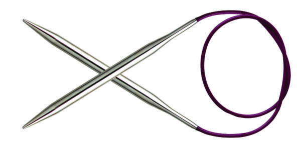 Спицы круговые 100 см Nova Metal KnitPro, 10362, 2.25 мм