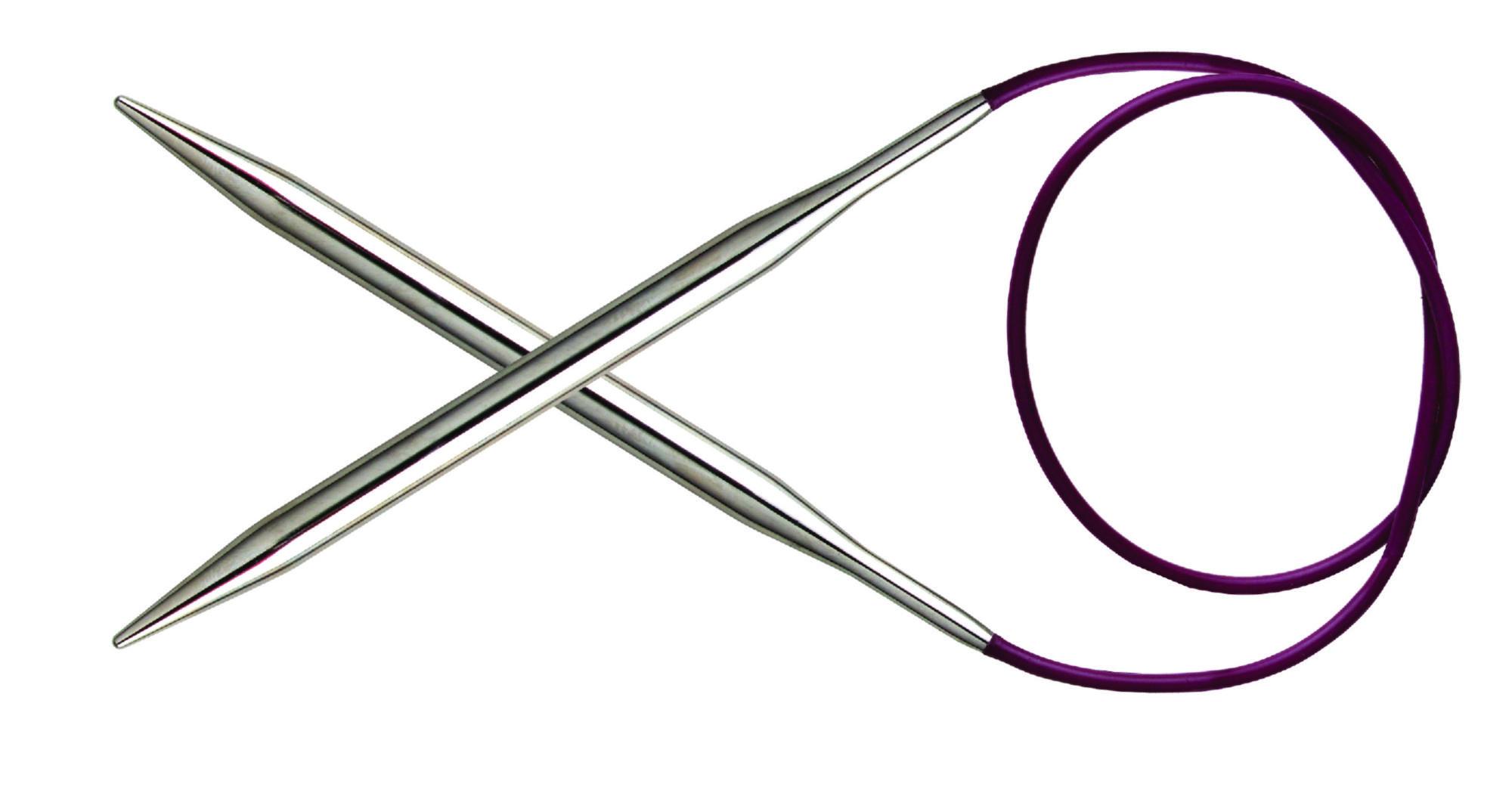 Спицы круговые 100 см Nova Metal KnitPro, 11355, 5.50 мм