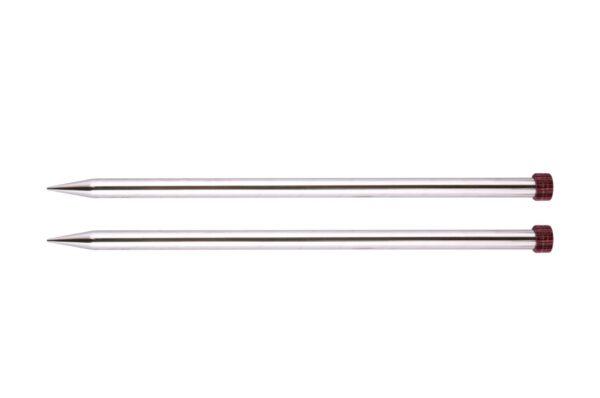 Спицы прямые 30 см Nova Metal KnitPro, 10242, 12.00 мм