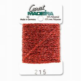 215/9724 Декоративная меттализированная тесьма Carat Madeira 4 мм*5м