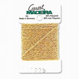 225/9724 Декоративная меттализированная тесьма Carat Madeira 4 мм*5м