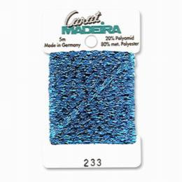 233/9724 Декоративная меттализированная тесьма Carat Madeira 4 мм*5м
