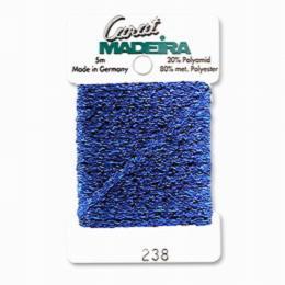 238/9724 Декоративная меттализированная тесьма Carat Madeira 4 мм*5м