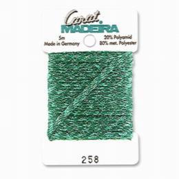 258/9724 Декоративная меттализированная тесьма Carat Madeira 4 мм*5м