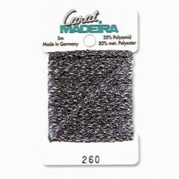 260/9724 Декоративная меттализированная тесьма Carat Madeira 4 мм*5м