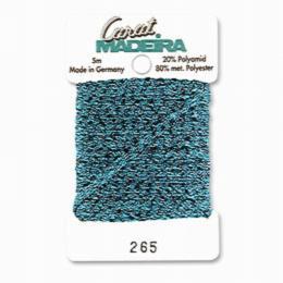 265/9724 Декоративная меттализированная тесьма Carat Madeira 4 мм*5м