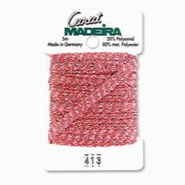 413/9724 Декоративная меттализированная тесьма Carat Madeira 4 мм*5м