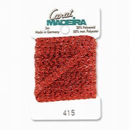 415/9724 Декоративная меттализированная тесьма Carat Madeira 4 мм*5м