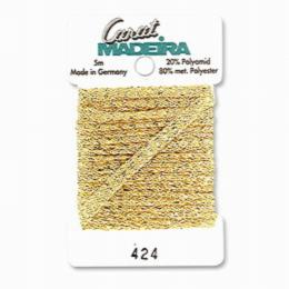 424/9724 Декоративная меттализированная тесьма Carat Madeira 4 мм*5м