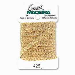 425/9724 Декоративная меттализированная тесьма Carat Madeira 4 мм*5м