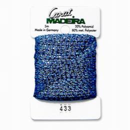 433/9724 Декоративная меттализированная тесьма Carat Madeira 4 мм*5м