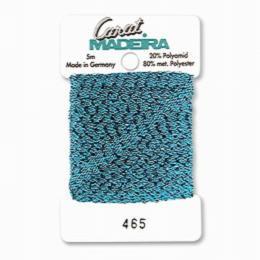 465/9724 Декоративная меттализированная тесьма Carat Madeira 4 мм*5м