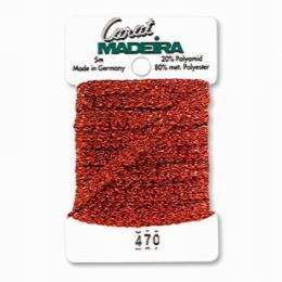 470/9724 Декоративная меттализированная тесьма Carat Madeira 4 мм*5м