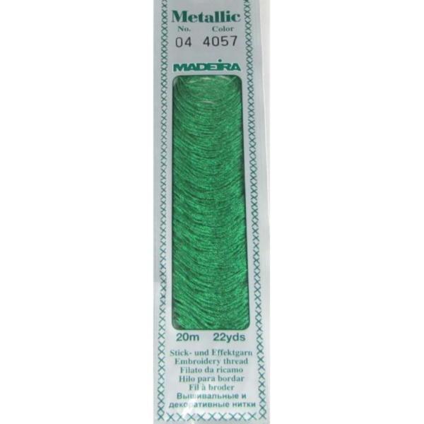 4057 Мулине Madeira Metallic Mouline №4, 4-х слойные, спираль 20 м.