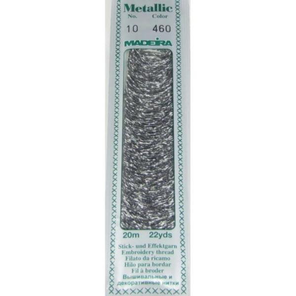 460 Мулине Madeira Metallic Perle №10, 2-х слойные, спираль 20м