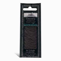 1441 Мулине Decora Madeira 5 m 4-х слойные филамент 100% вискоза