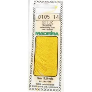 0105 Мулине Silk Madeira 5 m 4-х слойные 100% шелк