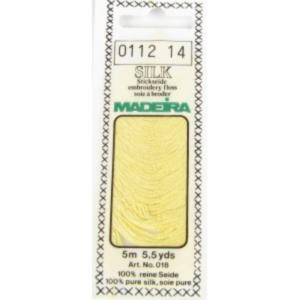 0112 Мулине Silk Madeira 5 m 4-х слойные 100% шелк
