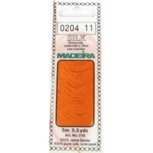 0204 Мулине Silk Madeira 5 m 4-х слойные 100% шелк