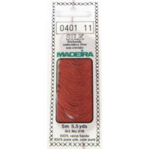 0401 Мулине Silk Madeira 5 m 4-х слойные 100% шелк