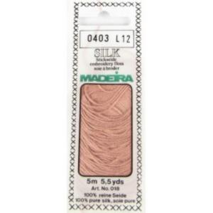 0403 Мулине Silk Madeira 5 m 4-х слойные 100% шелк