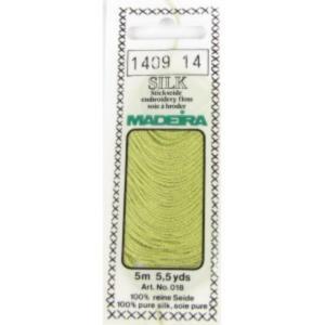 1409 Мулине Silk Madeira 5 m 4-х слойные 100% шелк